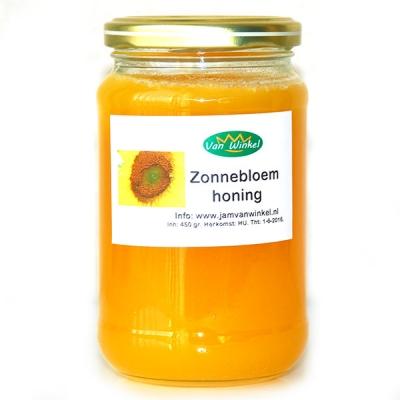 Zonnebloemhoning