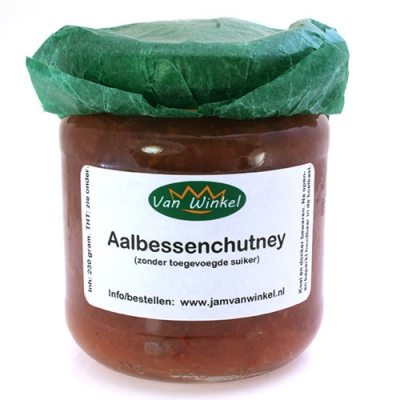 Aalbessenchutney (zonder suiker)